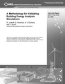 A Methodology for Validating Building Energy Analysis Simulations