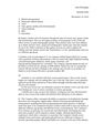 Annual Report Part 1 November 14, 2012
