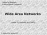 CIS 3200 Wide Area Networks