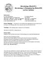 BioSc 221 Lecture Syllabus