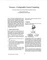 Teramac-Configurable Custom Computing