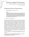 Engineering Security Requirements