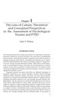 Theoretical and Conceptual Perspectives