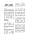 Analysis of Security Aspects of Web Services