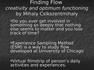 Finding Flow.Revie