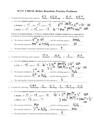Redox Reactions Practice Key