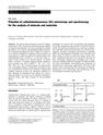 Potential of cathodoluminescence (CL) microscopy and spectroscopy