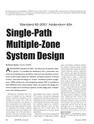 Single-Path Multiple-Zone System Design