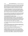 Tips for Revising Essay #1