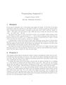 Programming Assignment 5