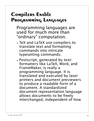Compilers Enable Programming Languages