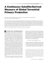 A Continuous Satellite-Derived Measure of Global Terrestrial Primary Production