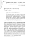 Specifying Reusable Security Requirements