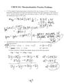 Thermochemistry Practice key