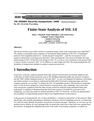 Finite-State Analysis of SSL 3.0