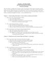 EXAM 1 – STUDY GUIDE PSY 210-Abnormal Psychology