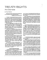 TREATY RIGHTS AN OVERVIEW