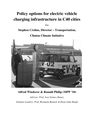 Policy options for electric vehicle charging infrastructure in C40 cities