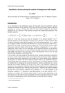 Labar 1 - Quantitative electron microprobe analysis of homogeneous bulk samples