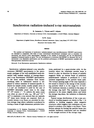 Synchrotron radiation-induced x-ray microanalysis