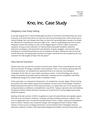 Kno Case Study