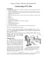 Lab Manual - Constructing a PVC Flute