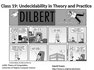 Undecidability in Theory and Practice
