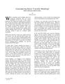 Considering Resin Transfer Molding