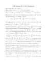 Problem Set 7: Part II Solutions