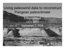 Using paleowind data to reconstruct Pangean paleoclimate