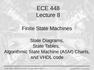 Lecture 8 Finite State Machines