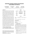 Systematic Topology Analysis and Generation Using Degree Correlations