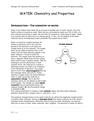 Water - Chemistry and Properties