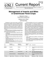 Management of Insects and Mites in Greenhouse Floral Crops