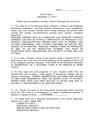 Exam 1 Key (2014)