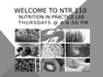NTR 110 Introduction C1