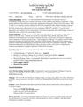 BIOL 112 Syllabus - Spring 2016