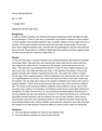 Bio-111 Cell Case Study Report