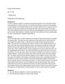 Bio-111 Cell Case Study Report