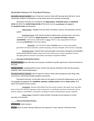 Declarative Memory V.S. Procedural Memory Notes