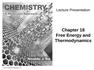 Chem ch. 18