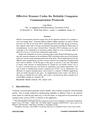 Effective Erasure Codes for Reliable Computer Communication Protocols