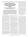 Strong Enhancement of Nonlinear Optical Properties