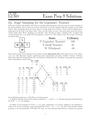 Exam Prep 8 Solutions