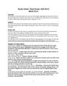 Final Study Guide-MUH2512 Fall