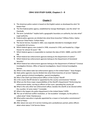 STUDY GUIDE, Chapters 5 – 8