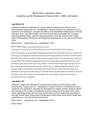 Cycle C MUSI 2331 Listening Log #9 Renaissance Period