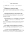 Reading & Study Guide 2.1