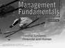 Control Systems: Financial and Human
