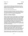 Mechanics and Motion Diagrams